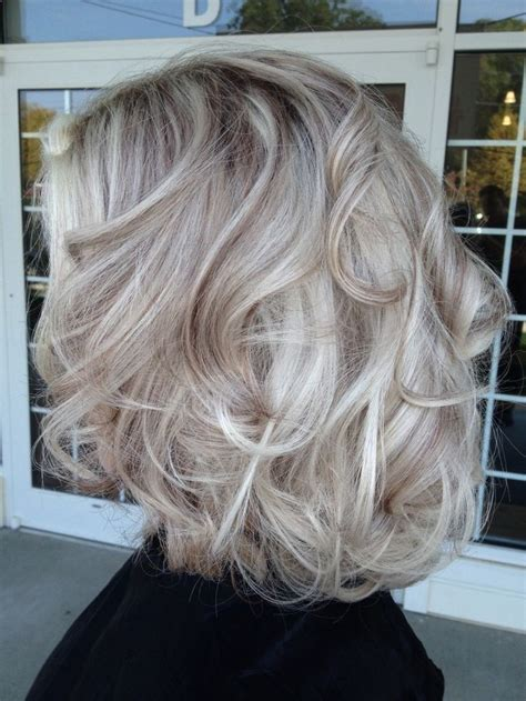 brown hair with platinum highlights pictures platinum hair with brown lowlights google search cute
