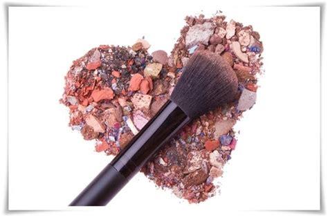 Eyeshadow Bubuk trik menyiasasi kosmetik yang patah tutorial panduan
