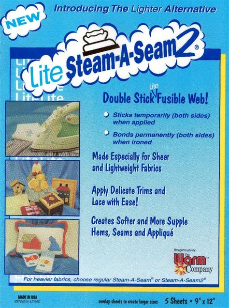 lite web steam a seam2 lite stick fusible web discount