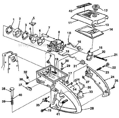 homelite xl parts diagram homelite ut 10445 c parts list and diagram