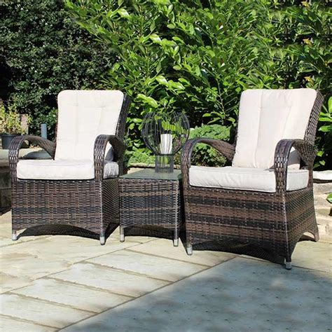 kensington club arizona shaped bistro set grey outside
