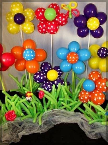 tutorial para decorar con globos 20 decoraciones de flores con globos super creativas