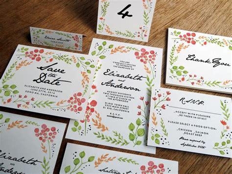 Hochzeitseinladung Din A4 by Test Hochzeits Einladungen Selber Drucken