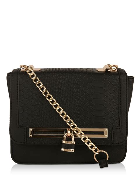 New Look Sling Bag buy new look snake skin textured shoulder bag for