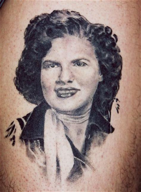 inkmachinetattoo patsy cline tattoo by danny gordey