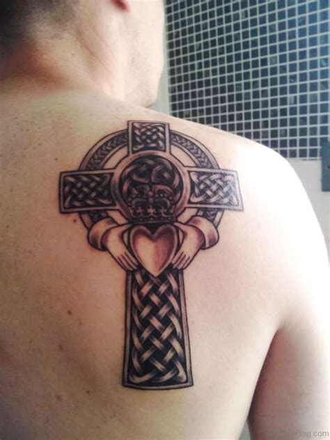 heart and cross tattoos 71 stylish celtic tattoos for back