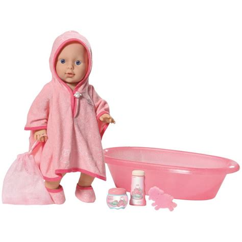 bathtub dolls baby annabell care for me set dolls playsets toys