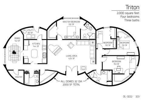Garten Dekorieren Ideen 3222 by 2 000 Square Four Bedrooms Three Baths Floor Plan Dl