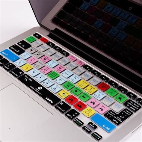 adobe premiere pro on macbook air for adobe premiere design shortcut silicone keyboard cover