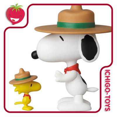 Snoopy Woodstock Beagle Scouts By Medicom udf no 210 beagle scouts and woodstock penauts