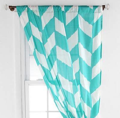 aqua and white chevron curtains best 25 aqua curtains ideas on pinterest diy green