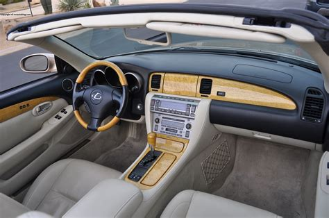 Sc Interiors 2006 lexus sc430 review rnr automotive