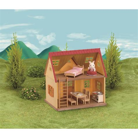 sylvanian families cottage sylvanian families cosy cottage starter home 3yrs from ocado