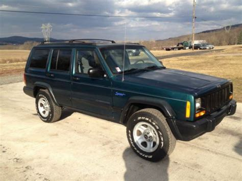 2000 Jeep 4 0 Engine For Sale Sell Used 2000 Jeep Classic Sport Utility 4 Door