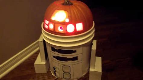r2d2 pumpkin youtube
