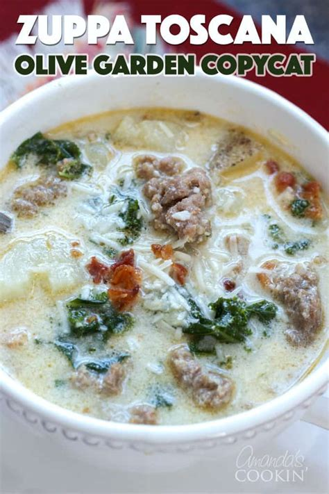 olive garden zuppa toscana nutrition zuppa toscana olive garden soup recipe with italian sausage