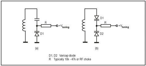 varactor diode problems capacitance how to properly connect and drive varicap diodes electrical engineering stack