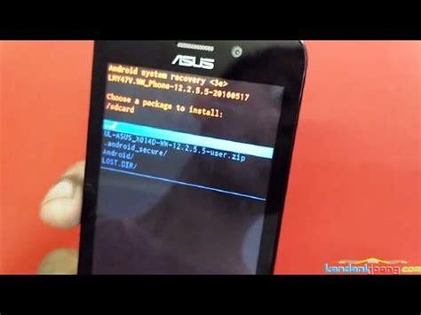 How To Flash Upgrade Asus Zenfone Go X014d Via Sd Card Firmware | how to flash upgrade asus zenfone go x014d via sd card