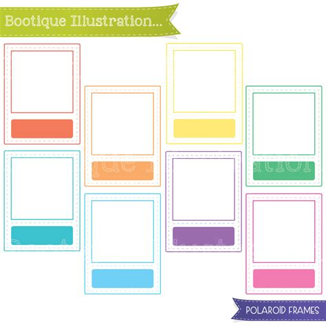 Frame Clipart 1208054 Illustration By by Polaroid Clipart Boo Tique Illustration Clipart