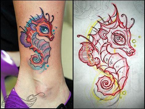 seahorse tattoo design 65 best seahorse tattoos