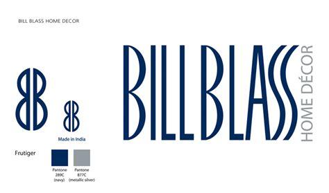 Bill Blass Home Decor branding