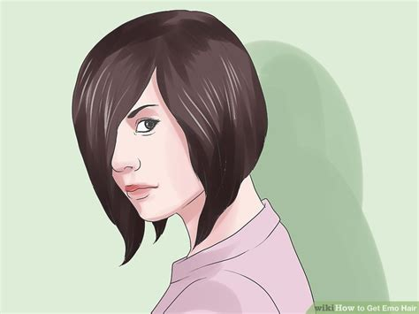 step by step emo haircut 3 ways to get emo hair wikihow