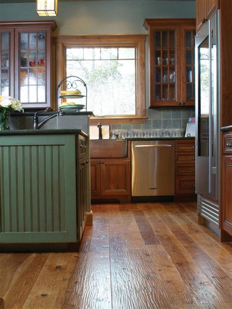 8 Flooring Trends To Try Hgtv Trends In Kitchen Flooring