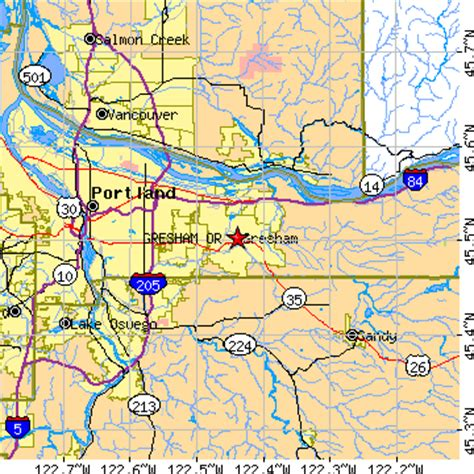 map of gresham oregon gresham oregon or population data races housing