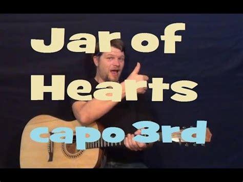 tutorial gitar jar of heart jar of hearts christina perri guitar lesson easy strum