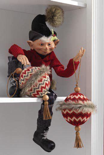 raz aspen sweater collection decorating ideas elf christmas decorations whimsical christmas