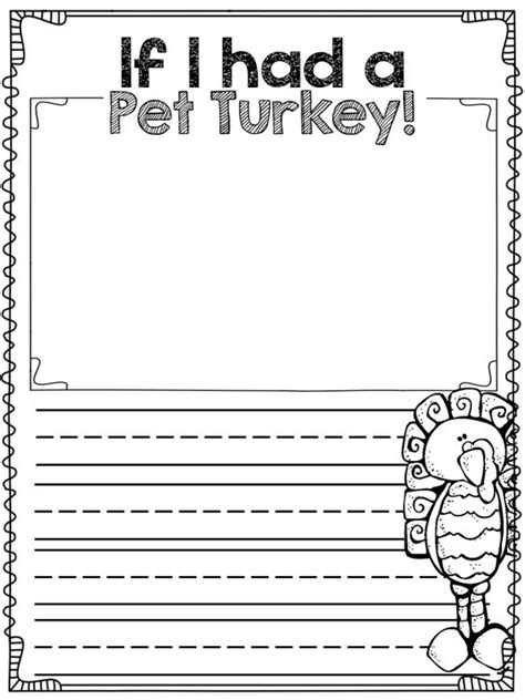 writing template for thanksgiving cards kindergarten fall writing prompts for graders fall writing