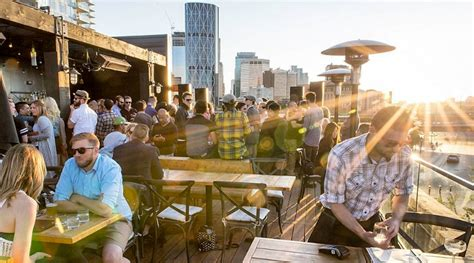 top bars in calgary rooftop bar simmons food drinks and an amazing view daily hive calgary