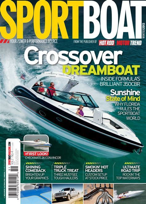 performance boating magazine sneak preview sportboat magazine winter issue