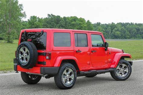 Jeep Recal Jeep Recalls 2017 Wrangler Fuel Tank Valve