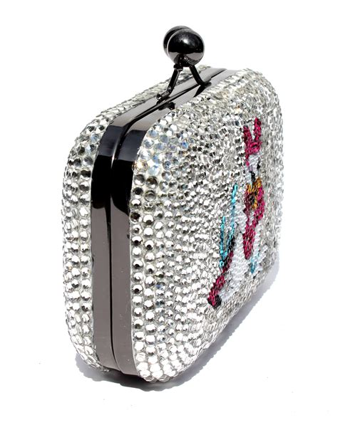 Clutch Original Swarovski donald and swarovski clutch