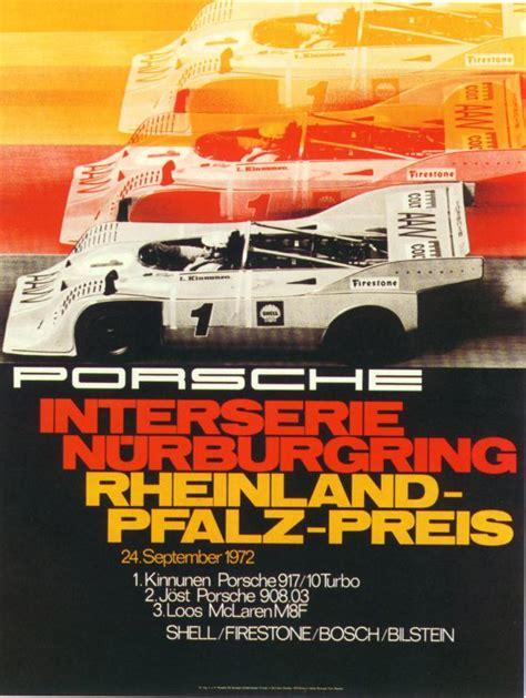retro racing porsche pelican parts vintage porsche racing posters