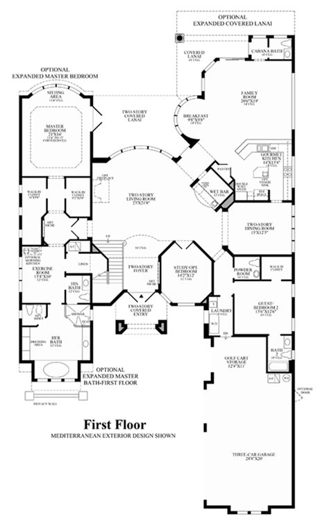 story house floor plans and trieste at boca raton florida royal palm polo signature collection the villa milano