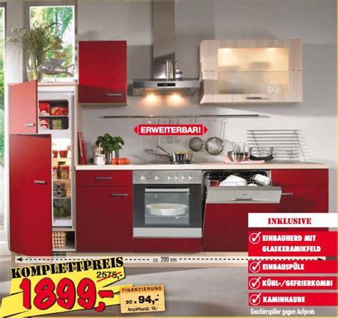 Küchenzeile Angebot by K 220 Chenzeile Rot Free Ausmalbilder