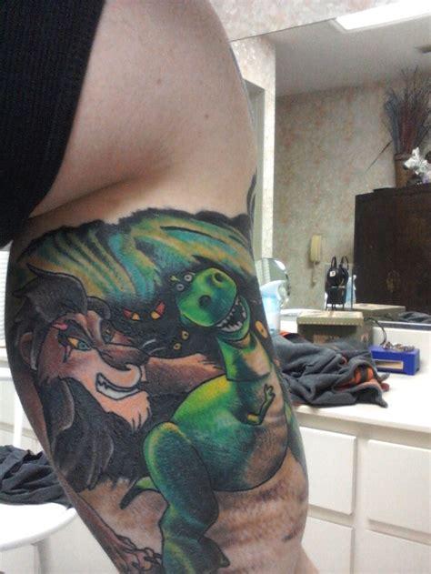 ocala tattoo harvey mcghee ocala its the inside bicep of scar