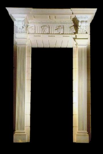 Interior Door Surrounds Door Surrounds Model Ds111 Houston Tx Marble Interior And Exterior Door Surrounds And Doorways