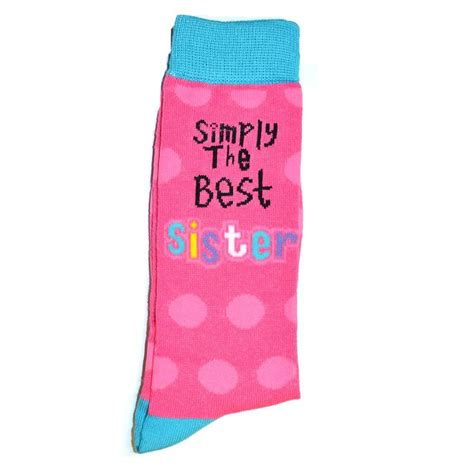 The Birthday Sock by Simply The Best Socks Gift Birthday Mothers Day