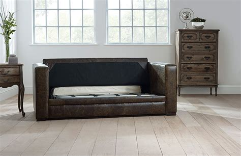 distressed leather sofa bed distressed leather sofa bed chesterfield company