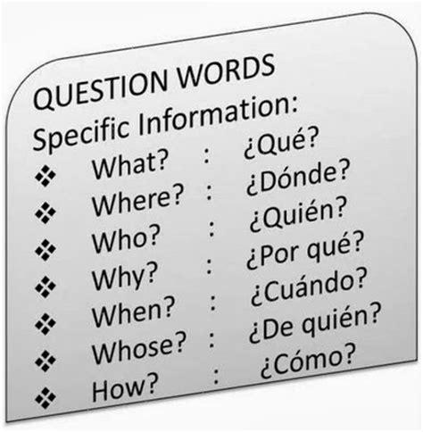 preguntas en ingles wh questions el blog de la se 241 orita lisa pronombres interrogativos en