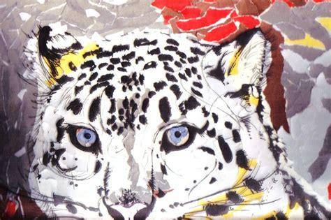 Leopard Origami - snow leopard in origami by kumorininja08 on deviantart