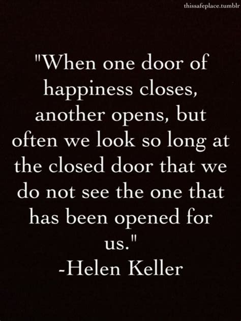 Closed Door Quotes by Closed Door Quotes Helen Keller Quotesgram