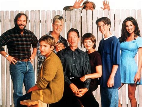 home improvement l to r richard karn johnathon
