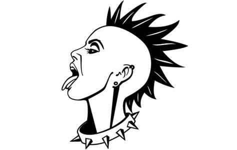wallpaper cartoon punk punk m 228 dchen vektor download der kostenlosen vektor