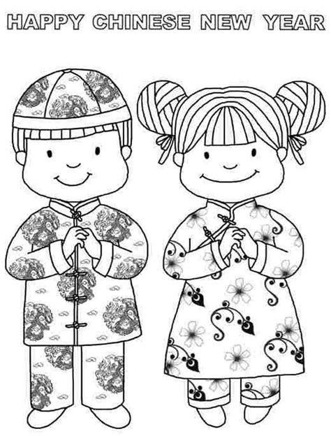 chinese new year coloring pages activity 14 chinese new years day coloring page print color craft
