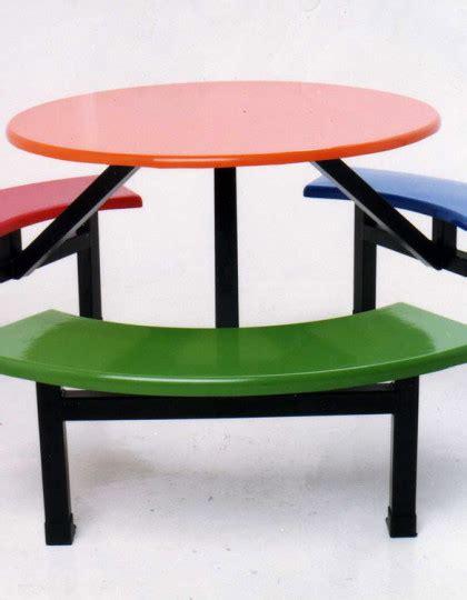 fibreglass long bench set central iron