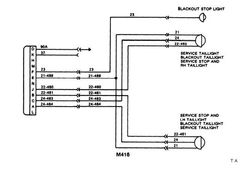 4 flat trailer connector wiring diagram get free image